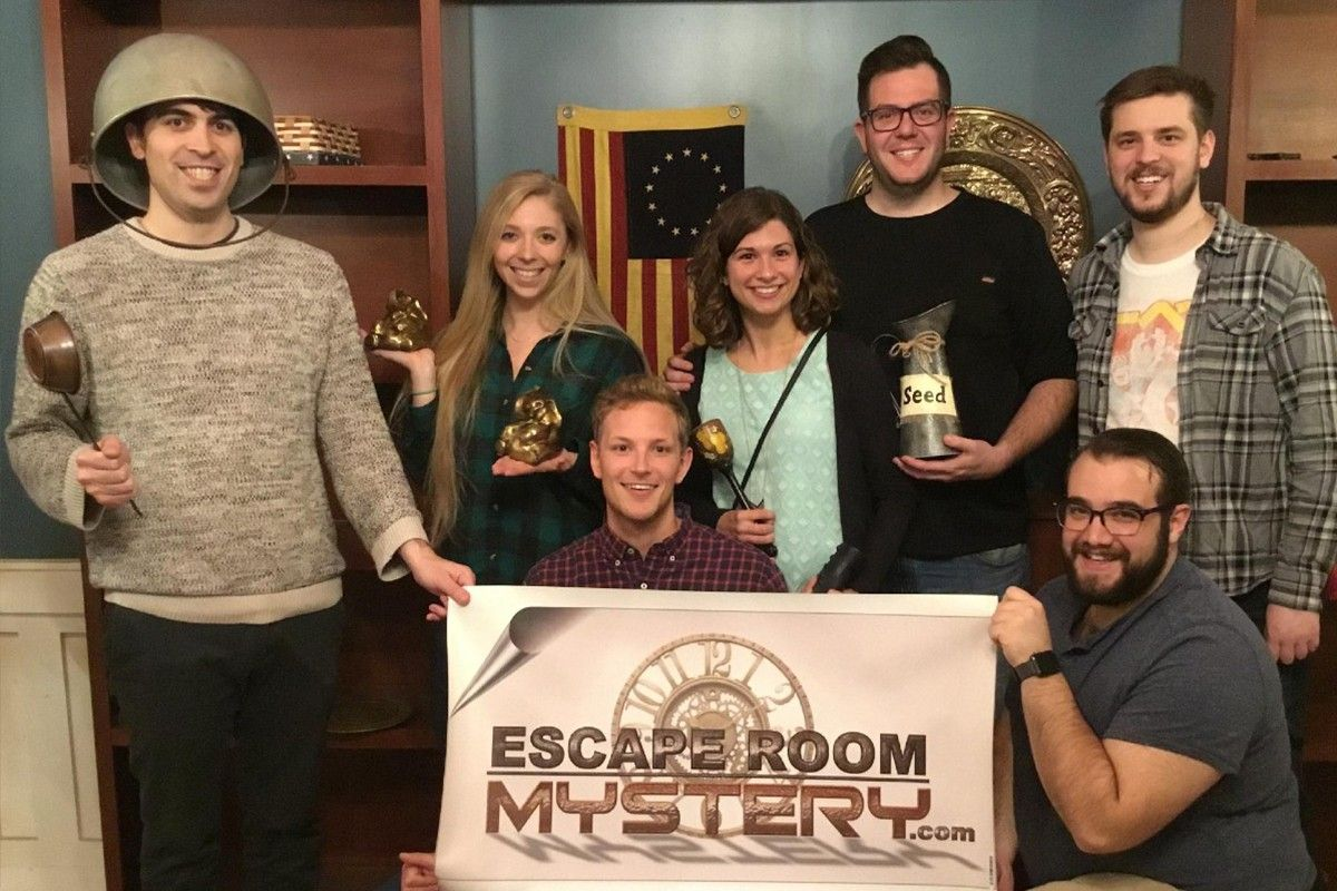 Fun activity Escape Room Mystery Revolution spies king of prussia