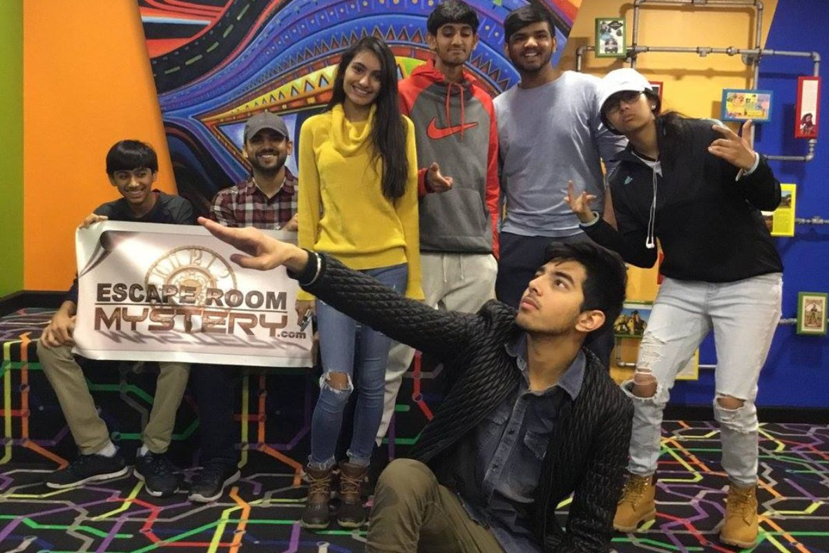 Great Friend Activity Escape Room Mystery Billionaire's Den Cherry Hill, King of Prussia